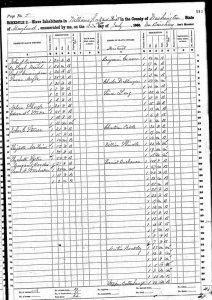 US 1860 Slave Census