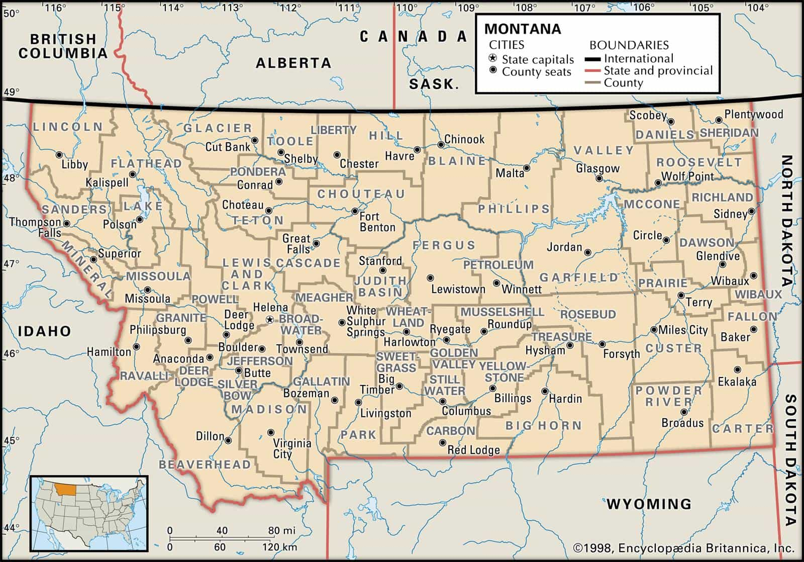 montana map of counties. historical montana map atlas  dot highway map collection