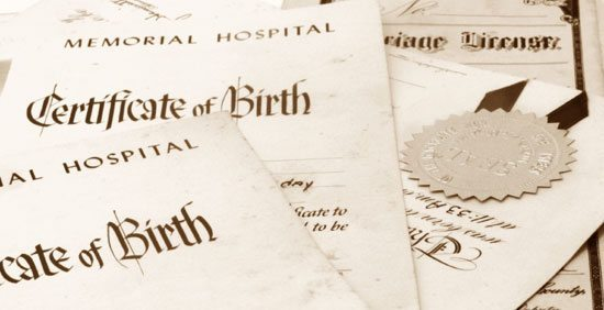 How to order Maine Birth, Marriage, Divorce and Death Certificates