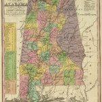 1836 Alabama Map