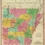 1836 Arkansas Map