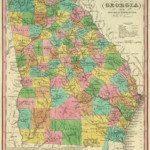 1836 Georgia Map