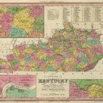 1836 Kentucky Map