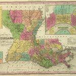1836 Louisiana Map