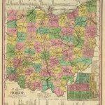 1836 Ohio Map