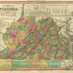 1836 Virginia map
