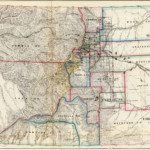 1866 Colorado Map