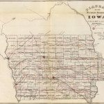 Historical Iowa Map Atlas DOT Highway Map Collection - Iowa map