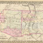 1880 Arizona Map