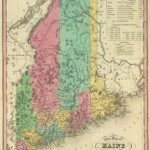 1836 Maine Map