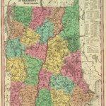 1836 Vermont Map