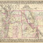 1880 Montana Map
