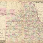 1880 Nebraska Map