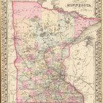 1880 Minnesota Map