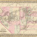 1880 Nevada Map