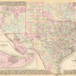 1880 Texas Map