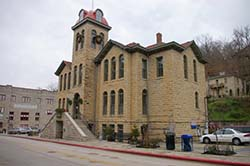 Carroll County, Arkansas Courthouse in Eureka Springs