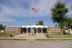 Clay County, Arkansas Courthouse in Piggott