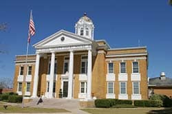 Evans County, Georgia Courthouse