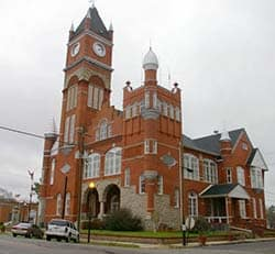 Terrell County, Georgia Courthouse