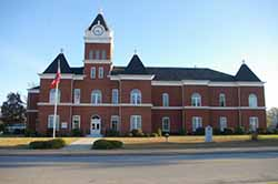 Twiggs County, Georgia Courthouse
